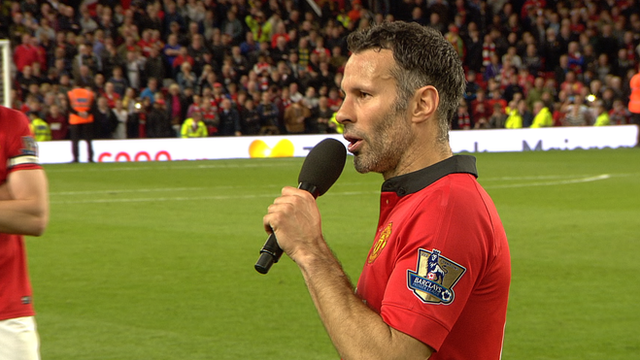 Ryan Giggs thanks Manchester United fans for support