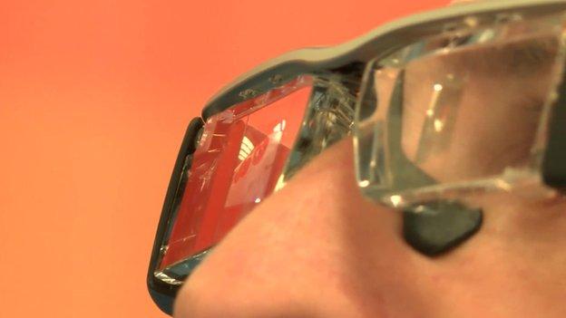 Easyjet glasses