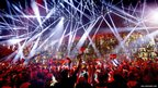A party after the first Semi-Final for the Eurovision Song Contest