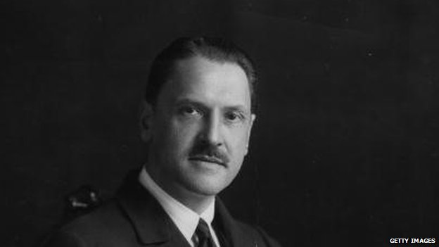 W. Somerset Maugham in 1920