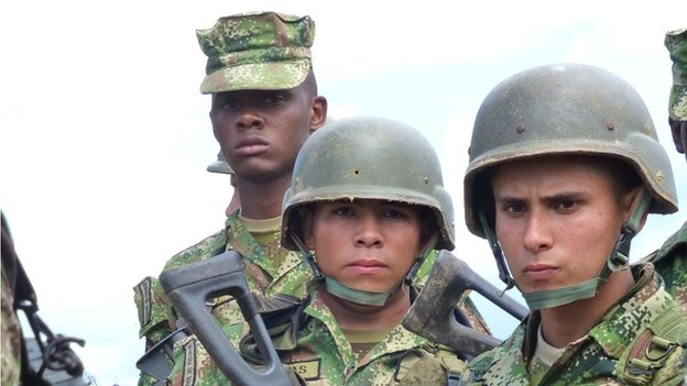 Colombian soldiers