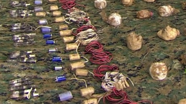 Landmines cleared in the Colombian jungle