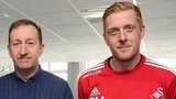 Huw Jenkins and Garry Monk