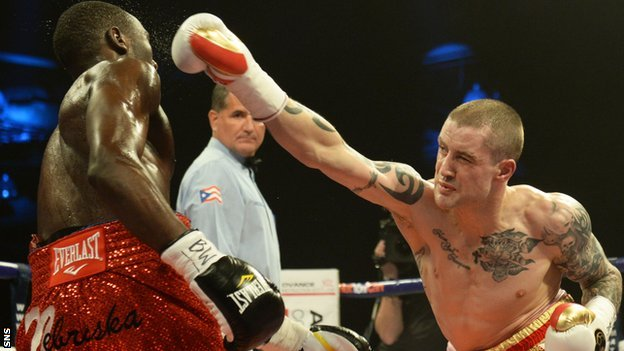 Former WBO champion Ricky Burns