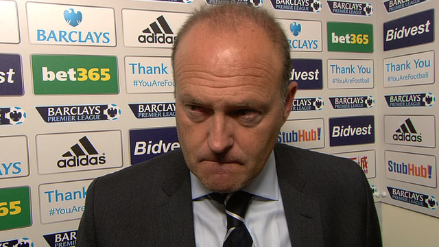 West Bromwich Albion head coach Pepe Mel