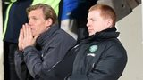 Neil Lennon watches Celtic's 3-3 with St Johnstone