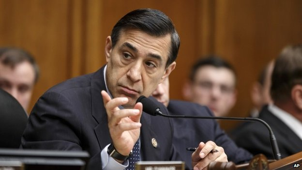 House Oversight Committee Chairman Rep. Darrell Issa, calls on his panel 10 April 2014