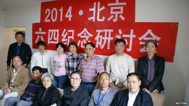 Agencies said a number of activists were rounded up by China authorities on Tuesday, including well-known human rights lawyer Pu Zhiqiang, lecturer Hu Shigen, researcher Xu Youyu, writer Liu Di, and professor Hao Jian. All five of them had attended a seminar on the Tiananmen protests on Saturday.