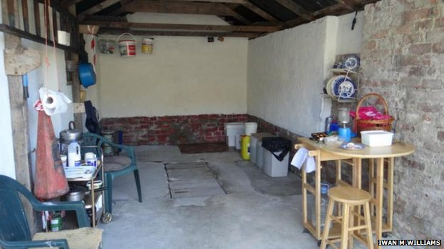 Inside of £38.5k shed