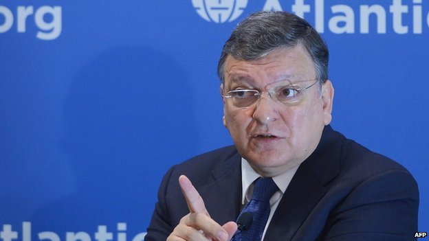 EU Commission President Jose Manuel Barroso - file pic