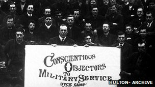 Conscientious objectors at Camp