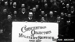 Conscientious objectors at Camp