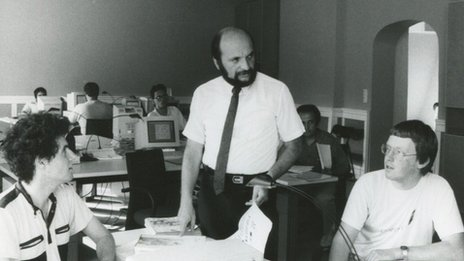 Graphisoft boss in 1980s