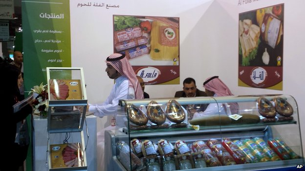 Halal stall