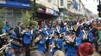Strike up the Helston Town Band