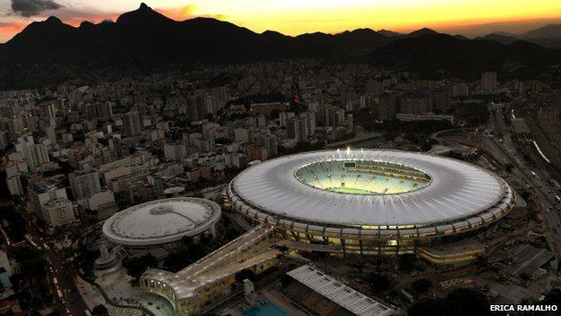 Stadium Maracana, Rio de Janeiro, Brazil