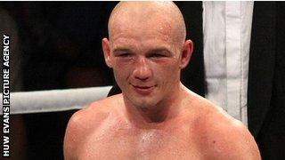 Welsh boxer Gavin Rees