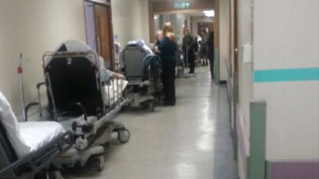 Hospital trolleys