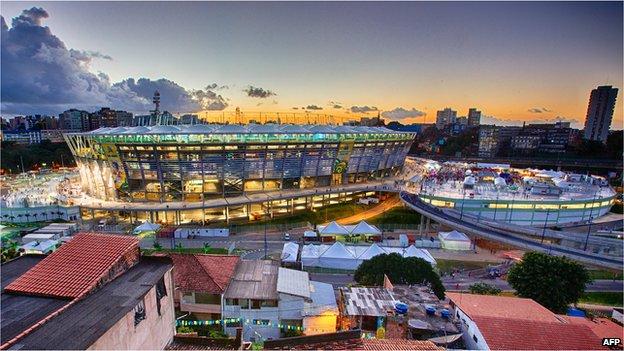 Arena Fonte Nova, Salvador, Brazil