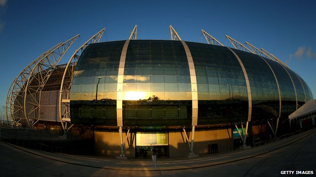 Stadium Arena Castelao, Fortaleza, Brazil