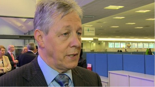 "Peter Robinson said definitions were ""important"" in the context of victims"