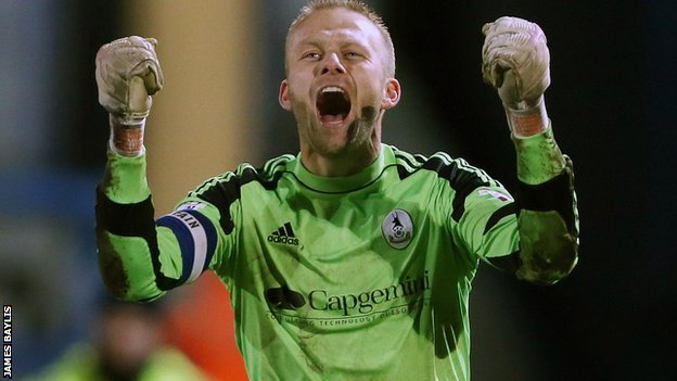 AFC Telford United keeper Ryan Young