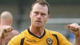 Newport County's Michael Flynn