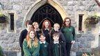 School Reporters at Priory Community School in Weston-Super-Mare.