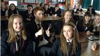Lurgan Junior High School in Northern Ireland School Reporters