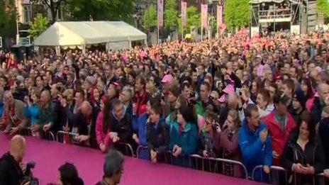 Giro d'Italia opening ceremony