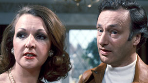 Penelope Keith as Margo and Paul Eddington as Jerry, in The Good Life