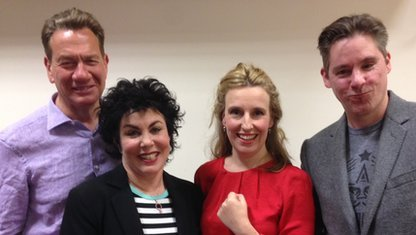 Michael Portillo, Ruby Wax, Miranda Green and Dan Hodges