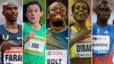 Mo Farah, Usain Bolt, Jessica Judd, Usain Bolt, Genzebe Dibaba, David Rudisha