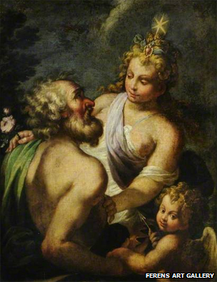Aurora and Tithonus