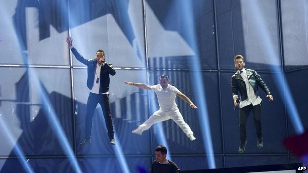 Greek entry for Eurovision in 2014