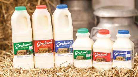 Graham's milk range