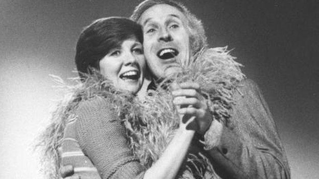 Cilla Black and Bruce Forsyth