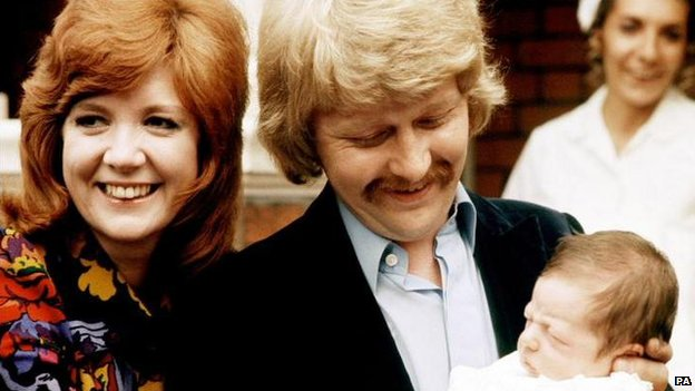 Cilla Black and husband Bobby Willis