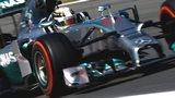 Lewis Hamilton in second practice