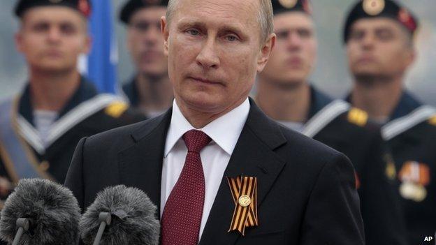 Vladimir Putin (9 May 2014)