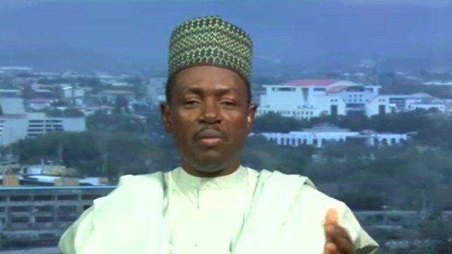 Labaran Maku, Nigerian Information Minister
