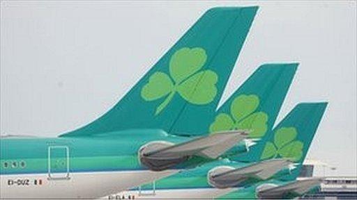 Aer Lingus aircraft