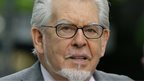 Rolf Harris arriving at Southwark Crown Court on 9 May 2014