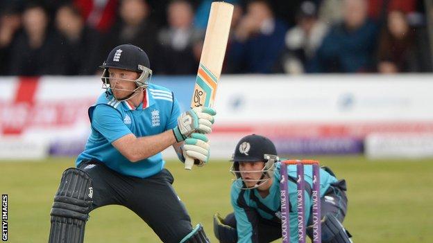 England batsman Ian Bell