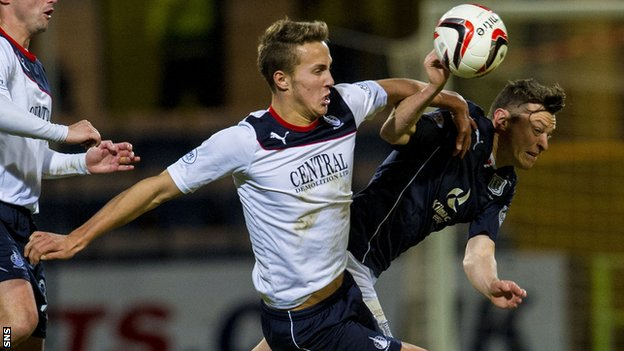 Falkirk defender Will Waulks