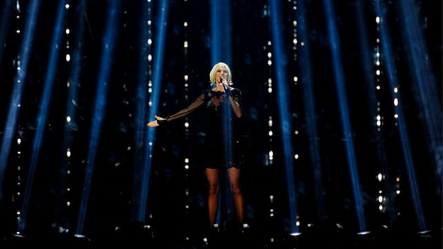 Sweden's Sanna Nielsen is currently the favourite to win the Eurovision trophy