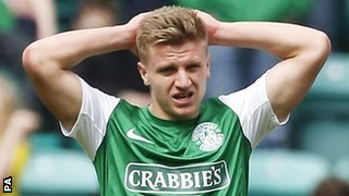 Hibernian's Jason Cummings