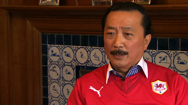 Vincent Tan hints at Cardiff kit change on Premier League return