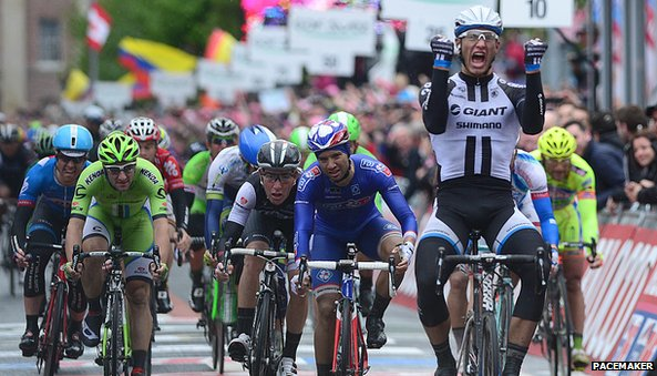 German Marcel Kittel wins the second stage