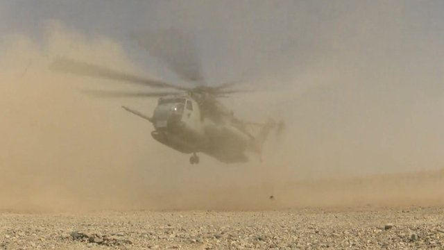 British forces leave their last outpost in Helmand